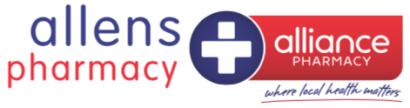 Allen's Pharmacy Logo RECTANGLE